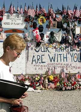 Flight 93 memorial (Eileen Blass )