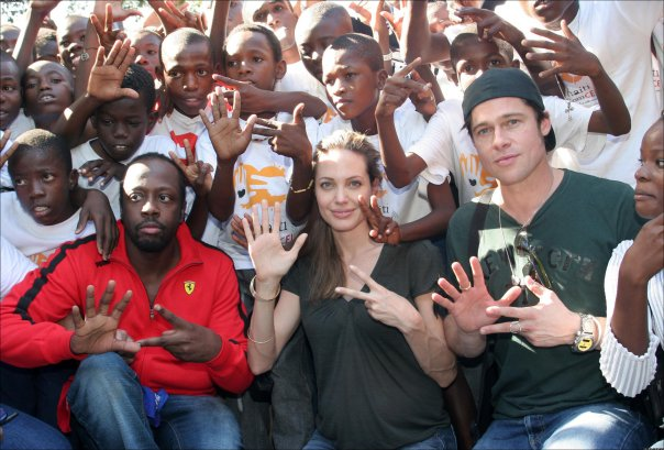 Image result for Jolie-Pitt Foundation: