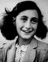 Anne Frank in May 1942, age 13 (www.en.wikipedia.org/wiki/Anne_Frank)