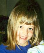 Abby at age 5 (http://www.abbysrun.com/index.htm)