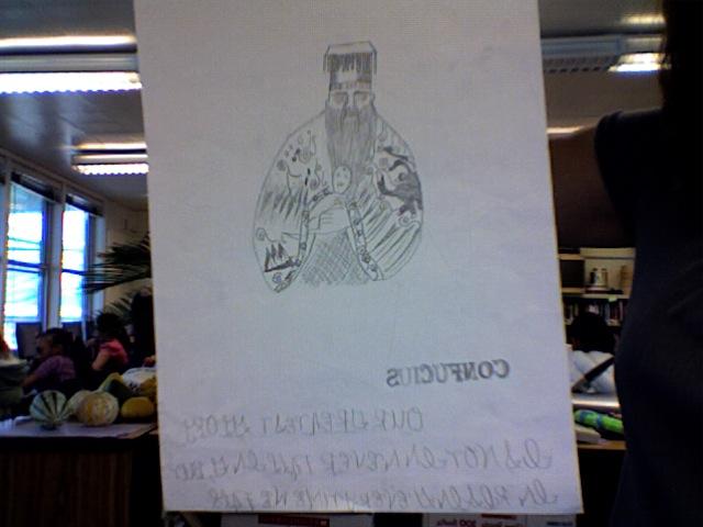 Confucius (Hand-made )
