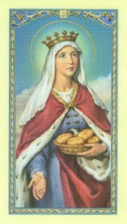 <center><b>St. Elizabeth of Hungary</b></center> (http://www.aquinasandmore.com/images/elizabethhungary.jpg)