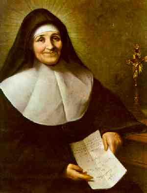 Portrait of St. Julie Billiart (http://www.saintcharleschurch.net/saint_julie.html)