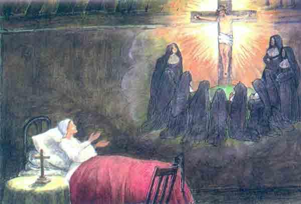 Her dream (http://www.sndohio.org/history/stjulie.htm)