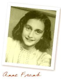 <b>Anne Frank around age 12</b><br>(www.glenwood-p.schools.nsw.edu.au)