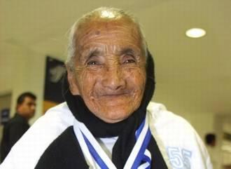 Senior Runner Rosario Iglesias