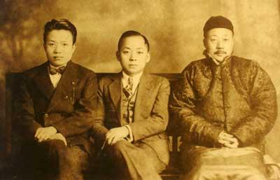 Father, K.C Li, and Ye Ye (adelinyenmah.com)