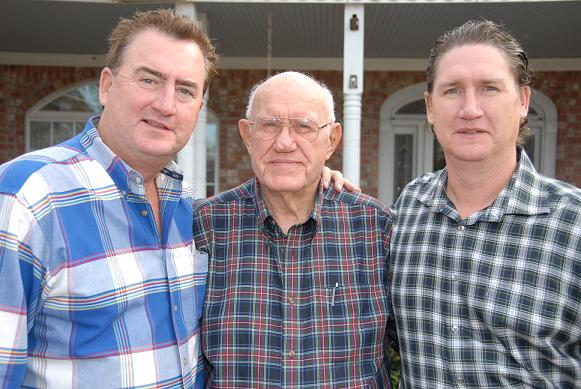 Uncle Nathan, Pops, Dad (taken by Kenneth Hodges)