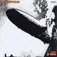 Led Zeppelin's self titled debut album (http://rundangerously.blogspot.com)
