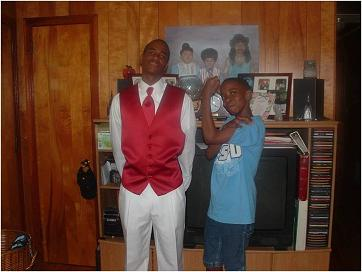Dwayne's first prom<br>(Home)