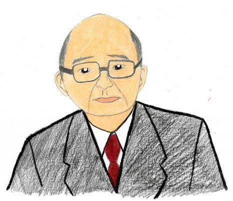 Soichiro Honda  (Hand-drawn Picture)