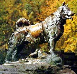 statue of Balto (internet)