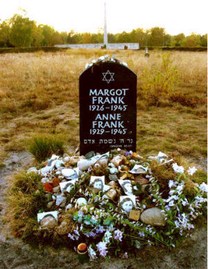 The tombstone of Anne Frank (http://eppsnet.com/images/anne-frank.jpg)