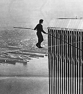 Philippe Petit man on wire documentary