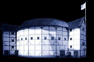 The Globe Theatre, re-built (http://www.globe-theatre.org.uk/new-globe-theatre.htm)