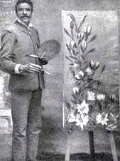 George Washington Carver as an artist (https://shs.umsystem.edu/famousmissourians/scientists/carver/carver.shtml)