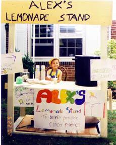 This is what Alex's lemonade looks like.  (http://www.alexslemonade.org/original)