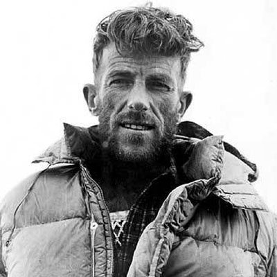 Edmund Hillary and Sherpa Tenzing Norgay Succeed In Climbing Mt. Everest