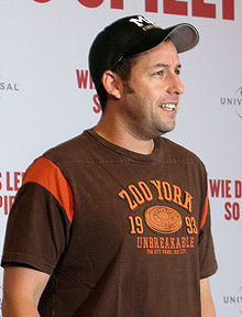 Adam Sandler in Berlin (2009) (Wikipedia)