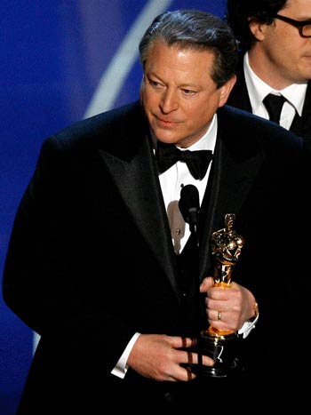 Al Gore won a Nobel Peace Prize