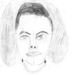 My drawing of Alexandra Scott