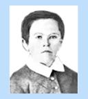 Thomas A. Edison at age 7 (Thomas Edison biography)