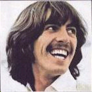George Harrison in the later years of The Beatles (http://qkly.com/george_harrison.html)
