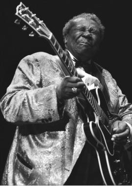B. B. King's Blues face. (B.B. King's Official Website. )