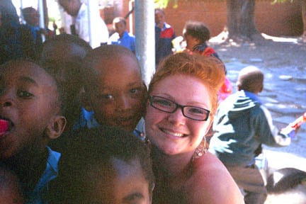 Ashley in Africa (http://www.rhodes-courter.com/about_ashley_rhodes_courter.html)
