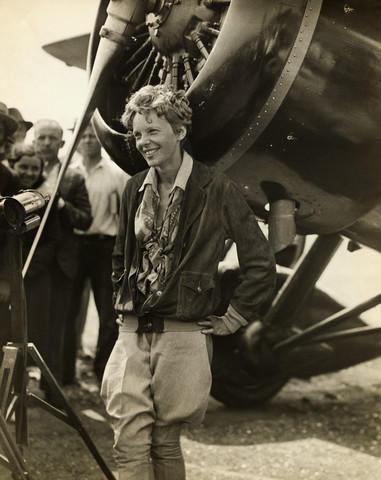 Amelia Earhart (http://gardenofpraise.com/ibdearha.htm)