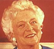 Barbara Bush (http://www.firstladies.org/biographies/images/BarbaraBush.jpg)
