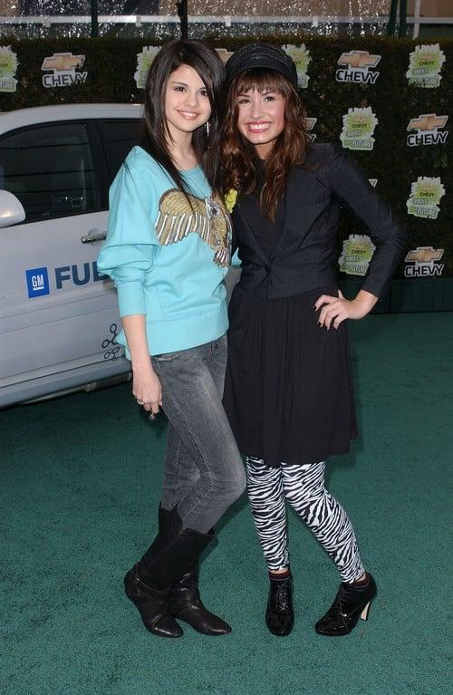 Selena Gomez and Demi Lovato (disneysociety.com)