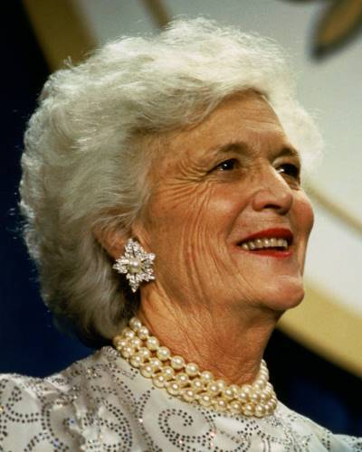 Barbara Bush (http://www.dcrw.org/images/barbara_bush_400a.jpg)