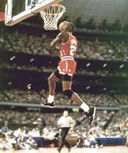 This Is Jordan Dunking With Great Levitation 23jordan