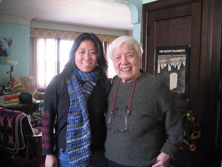 Filmmaker Grace Lee and Grace Lee Boggs