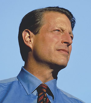 This is a close up of Al Gore (blackliberal.com)