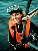 Earle after a dive (www.nmsfocean.org/files/earle.jpg)