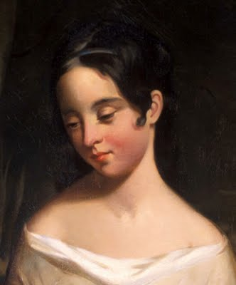 Edgar's wife Virginia, painted by Thomas Sully (http://3.bp.blogspot.com/_CvDCiEFbNy8/Ssymmom-XOI/AAAAAAAALpU/tu-wVV15bXs/s400/Thomas+Sully+Virginia+Clemm+Poe.jpg)