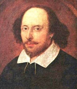 William Shakespeare (http://rohrbachlibrary.wordpress.com/2009/04/23/celebrate-shakespeare-and-national-poetry-month/)