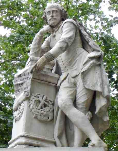 William Shakespeare's Statue (http://www.solarnavigator.net/history/william_shakespeare.htm)