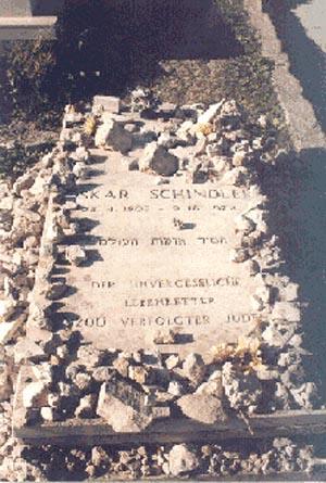 Schindler's grave (https://www.israeljerusalem.com)