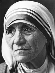 Mother Teresa (http://www.perigrinatio.com/category/sacred-space/)
