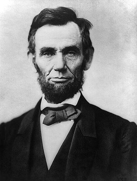 Abraham Lincoln (February 1809-April 1865) (Google Images)