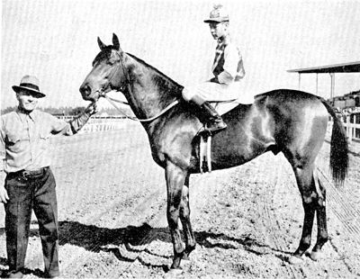 This is Seabiscuit and Red Pollared