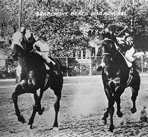 Seabiscuit and War Admiral