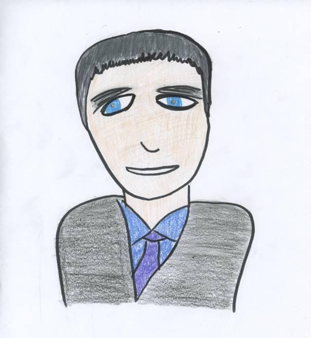 Denis Hayes, Creator of Earth Day (Hand Drawn by Kathryn Yu)