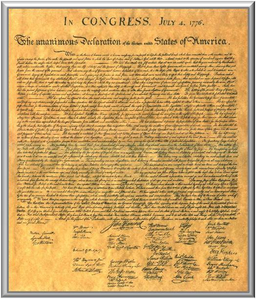 "an analysis of the declaration of independence written by thomas jefferson The declaration of independence is one of the fundamental documents  rhetorical analysis ""declaration of  thomas jefferson apparently attempted to."