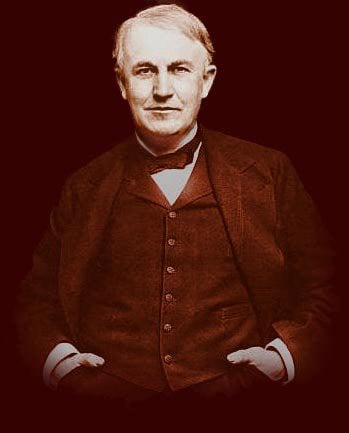 A Brief Biography of Thomas Alva Edison   Thomas Edison Muckers