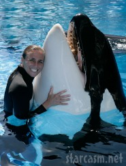 Dawn Brancheau with Tilikum  (starcasm.net)