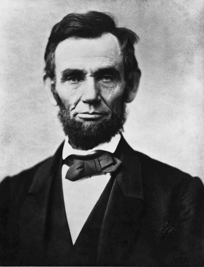 Abraham Lincoln  (http://bullrunnings.files.wordpress.com/2010/02/abraham_lincoln1.jpg)